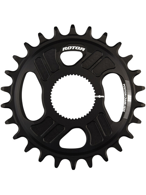 Rotor No-Q Ring - Plateau - 1x DM noir